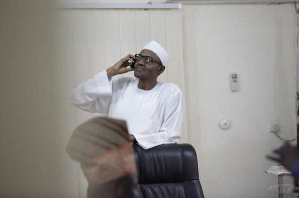 The call from President Jonathan congratulating General Buhari in elections